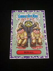Garbage Pail Kids 2018 Oh The Horror-ible! PURPLE BORDER 11b BUD DUD $4.00