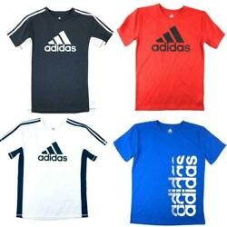 adidas Big Boys Kids Youth Short Sleeve Shirt T Shirt Tee Multiple Colors $13.93