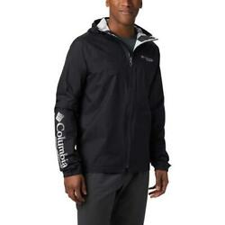 COLUMBIA Rogue Runner Wind Jacket Black White 1866211 010 $111.30