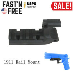 US Tactical Picatinny Rail Mount Adapter for 1911 Flashlight Mount $6.99