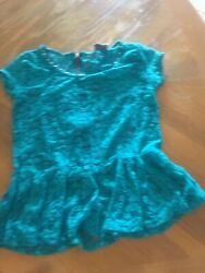 Women Cocktail Sleeve Blouse Turquoise T Shirt Party Elegant Tunic Tops $9.99