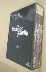 The Addams Family Complete Series (DVD 2007 ) Fast shipping First Class Mail