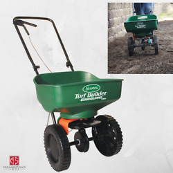 Seed Spreader Fertilizer Spreader Seeder SCOTTS TURF BUILDER Hand Foldable $52.95