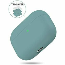 Miracase Upgrade Cover Airpods Pro Case Triple Layer Protective Liquid Silicone $20.97