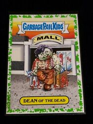 2018 Garbage Pail Kids Oh the Horror-ible GREEN BORDER DEAN OF THE DEAD 7a $4.00