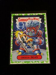 2018 Garbage Pail Kids Oh the Horror-ible GREEN BORDER CRUSTA SEAN 6b $4.00