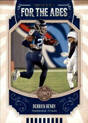 2019 Panini Legacy For the Ages #17 Derrick Henry $0.99