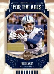 2019 Panini Legacy For the Ages #12 Cole Beasley $0.99