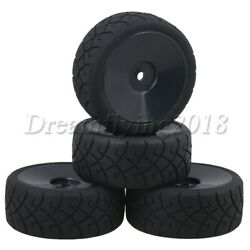 4 x RC Wheel Rims 52mm Dia amp; X Tires 12mm hex joint for RC 1:10 On Road Car $13.87
