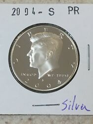 2004 S GEM PROOF KENNEDY HALF DOLLAR 90% SILVER