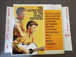 THE GOLDEN HITS OF THE EVERLY BROTHERS GREATEST 1962 MONO LP