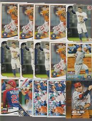 JOSE ALTUVE HUGE 300 CARD LOT ASTROS STAR LOTS OF BOWMAN ISSUES MANY DUPS MINT $75.99