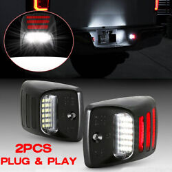 RED OLED TUBE LED License Plate Light Rear Bumper Lamp For Toyota Tacoma Tundra $14.89