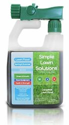 Liquid lawn Fertilizer Concentrate spray Lawn Food Natural Spring Summer Grass $28.42