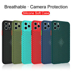 Silicone Case For iphone 11 Pro Max SE2020 XS XR 7 8 Plus Shockproof Cover $7.99