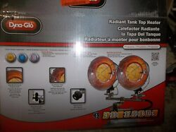 NEW Dyna-Glo Double Burner 30000 BTU Radiant Tank Top Propane Portable Heater $50.00