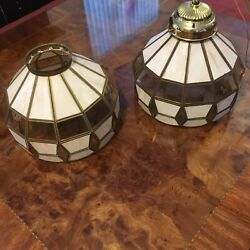 tiffany style hanging lamps set of 2 $45.00