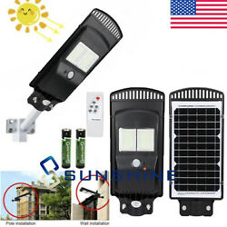 130000LM Commercial Outdoor Solar Power LED Street Light IP67 Dusk to Dawn Lamp