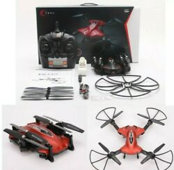 TK110W Foldable 2.4G 4CH 6Axis RC Quadcopter WIFI Camera Headless 360° Eversion $48.99