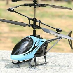 Mini RC Infrared Induction Remote Control RC Toy 2CH Gyro Helicopter RC Drone $14.43