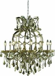 MARIA THERESA CHANDELIER TRADITIONAL ANTIQUE LIVING ROOM 8-LIGHT FOYER ENT