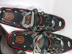 Atlas Snowshoes 825 Series 8 25.5quot; Great Shape Alluminum Maroon $99.99