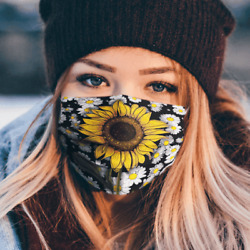 Sunflowers Lover Garden Sun Perfect Gift For Fan Comfortable Face Mask $40.50