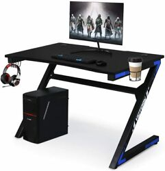 Computer Desk Gaming Table Gamer Workstation for Home or Office Gaming PC Desk $155.99