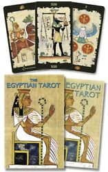 Egyptian Tarot Kit NEW Sealed 78 Color Cards Companion Book 160pg Ancient Wisdom $38.95