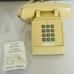 Traditional Desk Phone NT 2500 NIB $3.97
