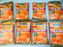 64 Hothands Adhesive Body Warmers - Up to 12 Hours of Heat - 8 x 8pk $47.99