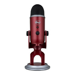Blue Microphones Yeti Professional Multi-Pattern USB Microphone Crimson Red $139.99
