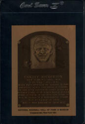 1981 1989 Hall of Fame Metallic Plaques LaJoie to Young EX to MINT You Pick $6.40