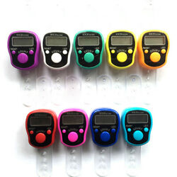 Digit Digital LCD Electronic Golf Finger Hand Ring Knitting Row Tally Counter P $4.28