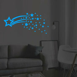 Fluorescent Stars Art Mural Wall Sticker Home Room DIY Modern Decor Decoration $5.08