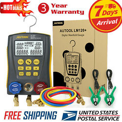 Refrigeration Digital Manifold HVAC Gauge Set FOR Air-Conditioner Refrigerator $125.99