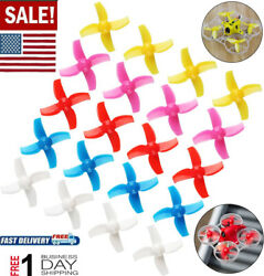 20pcs 40mm Four Blade Propellers For FPV Plus Tiny 7X Mini FPV Racing Drones $9.38