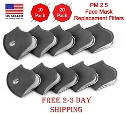 Face Mask Replacement Filters (51020) 5-Layers Activated Carbon Filters  $25.99