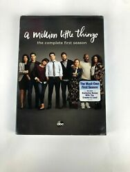 A Million Little Things Season 1 DVD 4 Disc Set New amp; Sealed Free Shipping $11.65