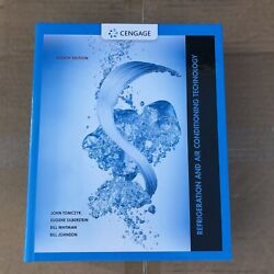 Refrigeration and Air Conditioning Technology 8th Edition -Hardcover Cengage NEW $95.99