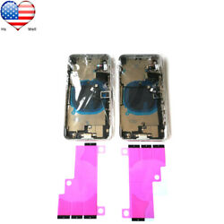 Replacement Glass Housing Battery Back Cover Frame Assembly Logo For iPhone X $46.90
