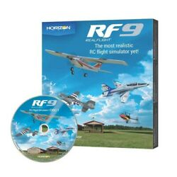 RealFlight 9 RC Airplane Heli Drone Multirotor Flight Simulator Software Only $99.99
