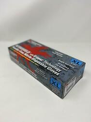 MCR Safety Powder Free Nitrile Gloves with Grippaz Technology 8 mil XL 50 box $24.99