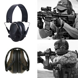 USA Military Soundproof Earmuffs Electronic Ear Muffs Shooting Hearing Protect $29.98