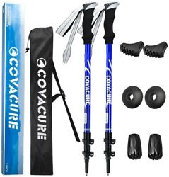 Covacure Rubber Trekking Sticks for Hiking New $10.90