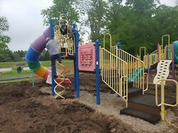 Large Commercial Playground Playplace Slide Setup $3,500.00