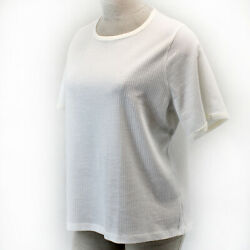 J. Crew Plus Summer Spring White Short Sleeve Waffle T shirt Top Blouse 3X $29.99