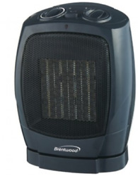 Brentwood Appliances H-C1600 Oscillating Ceramic Space Heater and Fan Dual. $46.99