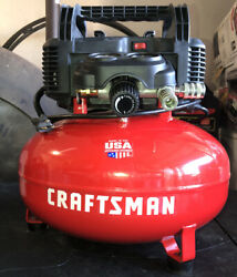 CRAFTSMAN  6-Gallon Single Stage Portable Electric Pancake Air Compressor $109.00
