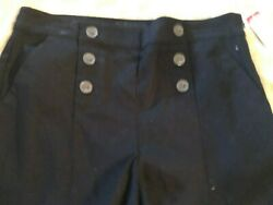 Attention Womens Short Shorts Black Small New with Tags Vintage K mart $9.89
